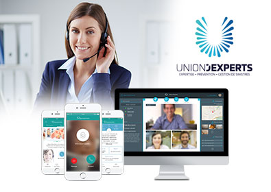 Union d'experts – service de visio-expertise