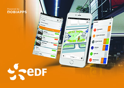 EDF – GéoServices : l'application de géolocalisation Indoor