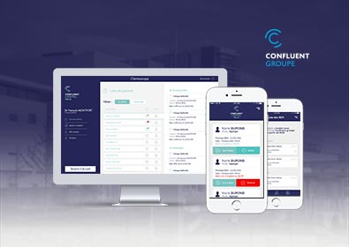 Groupe Confluent - Chimioscope, l'application au service de l'efficacité médicale