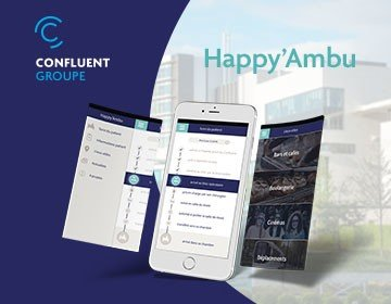 "Groupe Le Confluent – L'application ""Happy'Ambu"""