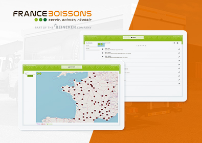 France boissons / Heineken – Star map, la cartographie de vos points de distribution